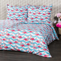 4Home Flamingo pamut ágyneműhuzat