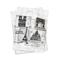 Matějovský kuchynská utierka Paris monuments, 50 x 70 cm, sada 2 ks