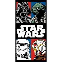 Ręcznik kąpielowy Star Wars komiks, 70 x 140 cm
