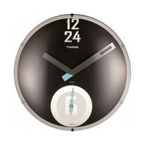 Twins 351 zegar ścienny czarny