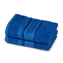 4Home Bamboo Premium ręczniki niebieski, 50 x 100 cm, 2 szt.