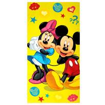 Osuška Mickey a Minnie, 75 x 150 cm