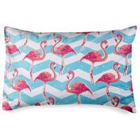 4home Obliečka na vankúšik Flamingo