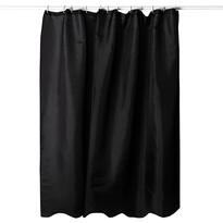 Sprchový závěs černá, 180 x 180 cm