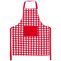 4Home Fartuch kuchenny Czerwona kropka, 70 x 90 cm