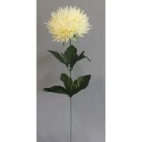 Sztuczny kwiat Chryzantema, biały
