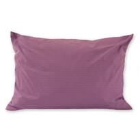 Obliečka na vankúš krep fialová, 70 x 90 cm