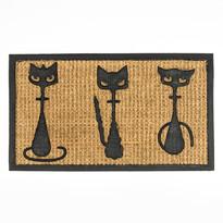 3 cica lábtörlő vékony, 40 x 70 cm