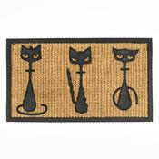 Rohožka slabá 3 kočky, 40 x 70 cm