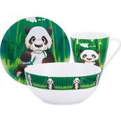 Kaiserhoff Panda dětská jídelní sada