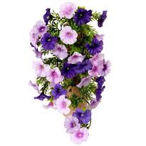 Sztuczny kwiat Petunia fioletowy, 40 cm