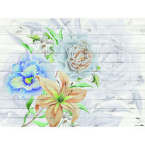 Fototapeta XXL Flores 360 x 270 cm, 4 diely