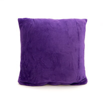 Mikroplüss párna New sötét lila, 40 x 40 cm
