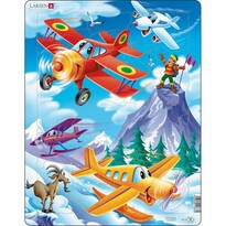 Larsen Puzzle Samoloty, 20 części