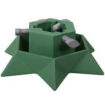 Star műanyag állvány karácsonyfához, zöld