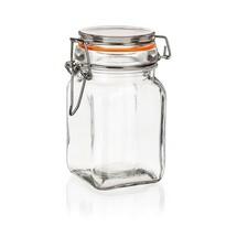 Set doze de sticlă cu dop ermetic 6 buc. Banquet  Lina 250 ml