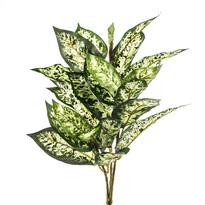 Umelá kvetina mramornatka škvrnitá  zelenožltá