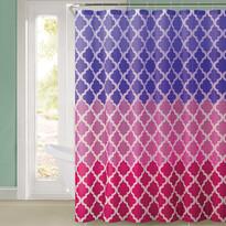 Sprchový záves Magic ružová, 180 x 180 cm