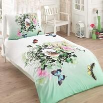 Pościel bawełniana Butterfly 3D Exclusive, 140 x 200 cm, 70 x 90 cm
