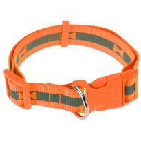 Obojok pre psa Neon oranžová, veľ. L