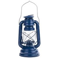 Petrolejový lampáš 25 cm, modrá