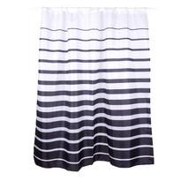 Zasłona prysznicowa Stripes, 180 x 180 cm