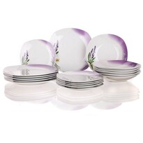 Banquet Lavender 18dílná jídelní sada