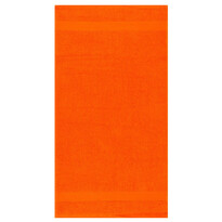 Ručník Olivia tmavě oranžová, 50 x 90 cm