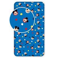 Cearşaf pentru copii din bumbac Mickey 04, 90 x 200 cm