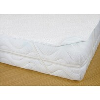 Chránič matrace s PVC záterom, nepriepustný