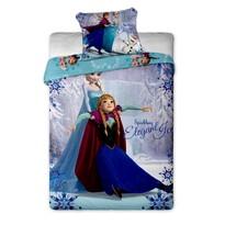 Detské bavlnené obliečky Ľadové Kráľovstvo Frozen 2015, 140 x 200 cm, 70 x 90 cm