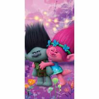 Osuška Trolls Poppy a Brand, 70 x 140 cm
