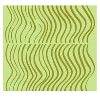 Tapeta Silkkikuikka 0,7 x 10 m, zielona/zielona