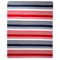 Fleecová deka Prúžok Trikolor, 130 x 170 cm