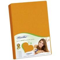 Jersey Bellatex, cu elastan oranžová
