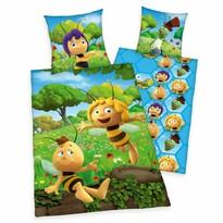Dziecięca pościel bawełniana do łóżeczka Pszczółka Maja, 100 x 135 cm, 40 x 60 cm