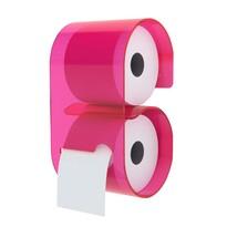 Zásobník B-Roll pre toaletný papier, ružový