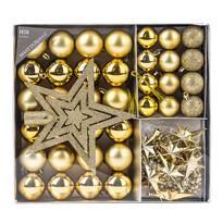 Vianočný set Luxury, zlatá