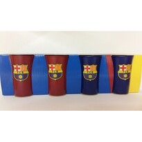 FC Barcelona Set 4 štamprlí, Colored