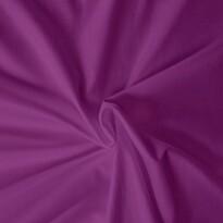 Saténové prostěradlo tmavě fialová