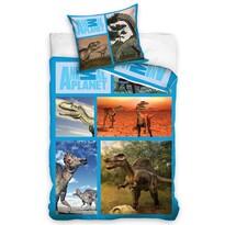 Pościel bawełniana Animal Planet – Dinozaury, 160 x 200 cm, 70 x 80 cm