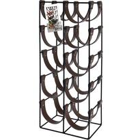 Metalowy stojak na 10 butelek 24 x 16 x 60 cm