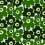 Tapeta Pieni Unikko 0,7 x 10 m, zelená/zelená