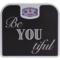 Osobní mechanická váha Be You, černá