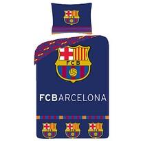 Bavlněné povlečení FC Barcelona 8009, 140 x 200 cm, 70 x 90 cm