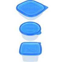 15dílná sada plastových dóz na potraviny
