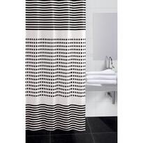 Sprchový závěs Darja černá, 180 x 180 cm