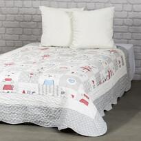 4Home Narzuta na łóżko dla dzieci Little Friends, 140 x 200 cm