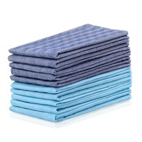 DecoKing Louie konyharuha, kék, türkiz, 50 x 70 cm, 10 db-os készlet