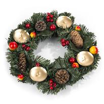 Wieniec świąteczny z szyszkami śr. 30 cm